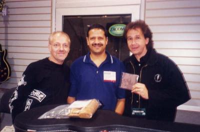 Frampton, Mark, and bassist John Regan