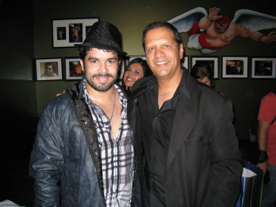 Jerry Rivera and Mark