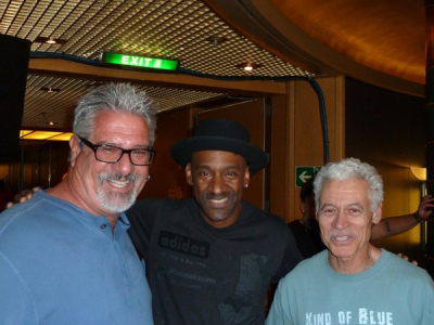 Two Dogs Tom, Marcus Miller And Victor Martinez Jazz Cruise