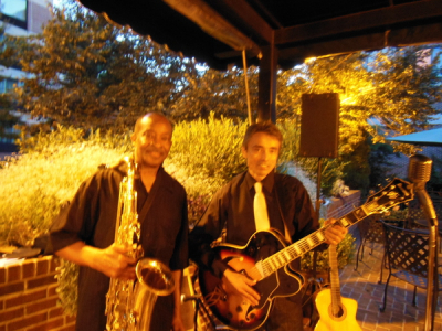 Ron Adwaters, premier saxaphonist performing with me at the Double Tree Biltmore, 9/2014  See Ron playing live:  https://www.youtube.com/watch?v=Ss8umN4yyVE