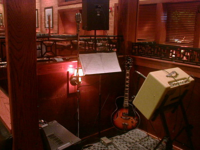 The Flat Rock Grille was a beautiful place to perform, had a first rate clientele who appreciated my music. It was a sad day when it closed.