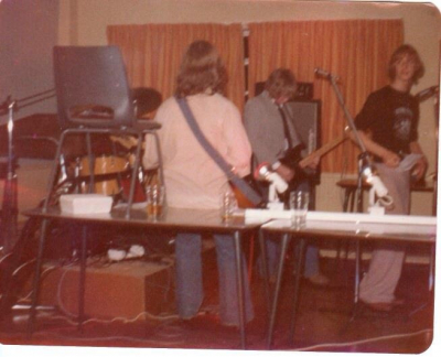 my band 'Ultraviolet' back in '74