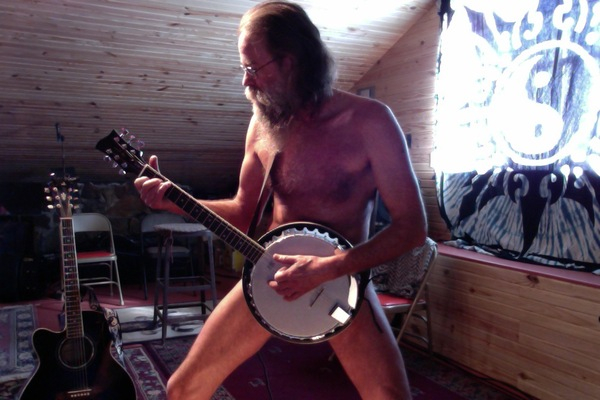 No banjos were harmed in the making of this photo