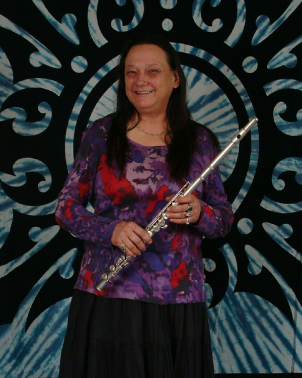 JAN, OUR WONDERFUL FLUTE PLAYER