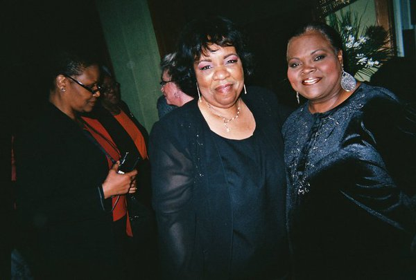 Lady Junn and Georgia Mayor Evelyn Wynn-Dixon
