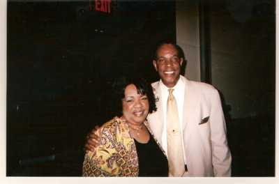 Lady Junn and Actor/Producer Ralph Wilcox,. Famous for African American documentary films