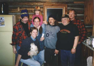 <p>NEW REVOLUTION  - 1996 - L-R   BRETT JOHNSON, ME ,SETH GARON & BRIANNA JOHNSON , MEL GUYETT , CHARLIE RAUSCH , GARY CUTTER.  MEL ,CHARLIE , AND GARY ...SADLY NO LONGER WITH US</p>