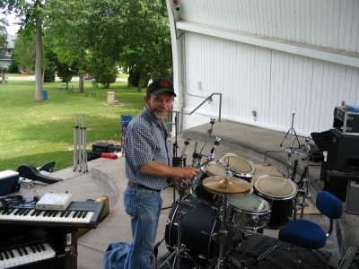 <p>My Buddy and Drummer - John Lindquist </p>