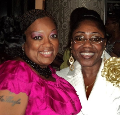 <p>Latrice & Doresa Harvey On-Air Personality Heaven 600 @ Kendall King's Album Release</p>