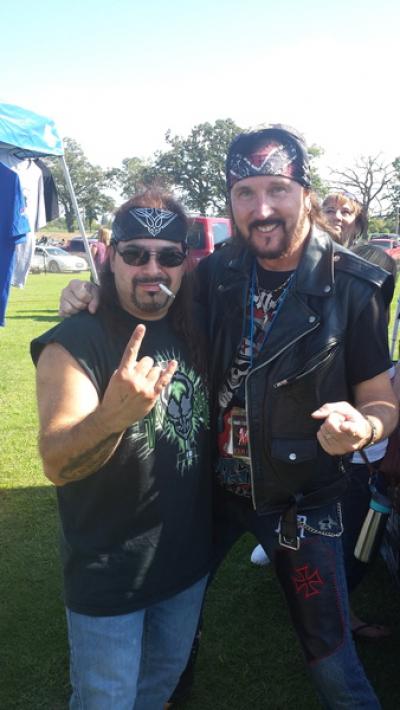 Pat Catalano and Ron Keel