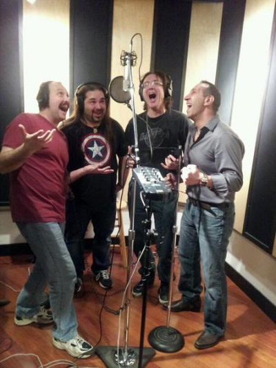 Time for Backup vocals Mike Myzyri, Pat Catalano, Mike Filipek, Joey Domino