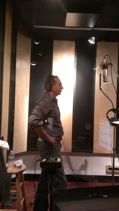 Our good friend Joey Domino special guest back up vocals on our new album