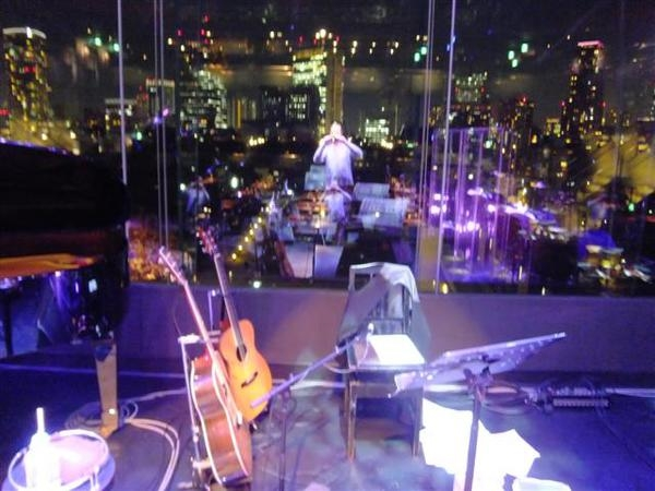 <p>&nbsp;View from stage Tokyo Billboard</p>