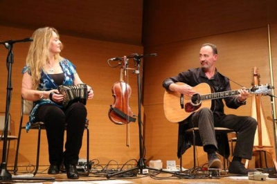 <p> Onstage with Niamh Ní Charra Tokyo</p>