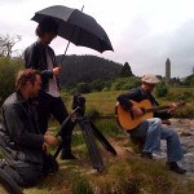 <p> Filming for Japan TV</p>