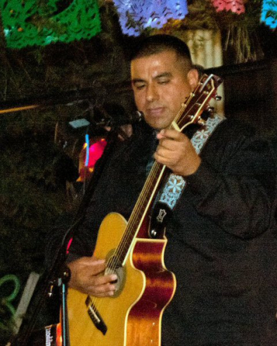 <p>Robert Rojas - Rhythm Guitar</p>