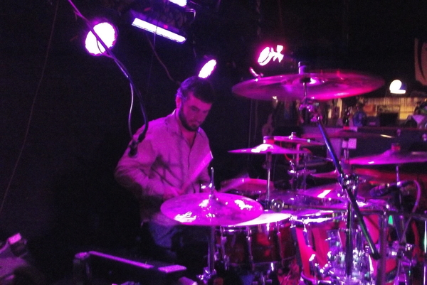 Special Guest Adam on Drums....Great job on them LEFT handed Drums Adam.