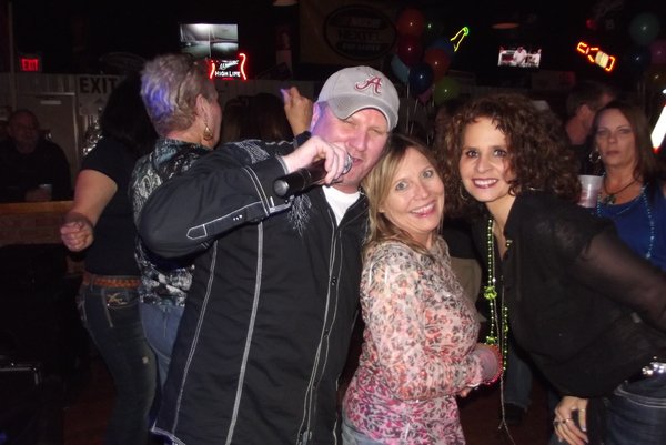 Craig With Two of our Beautiful Friends Darlene & April.