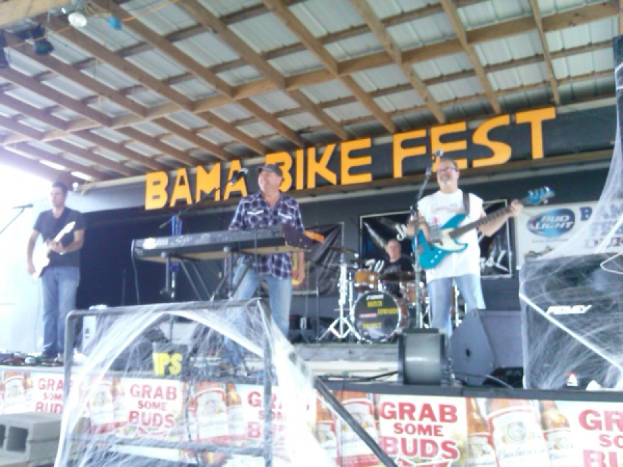 The guys of Hutch Edwards Project want to thank all the folks of of Bama Bike Fest for allowing us to entertain you guys with our music! Great times with Great friends!!! Thank you all for your kind words and compliments.. we had a blast!! Truly good folk