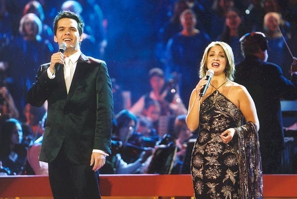 Carols By Candlelight (Nine Network) - with Silvie Paladino