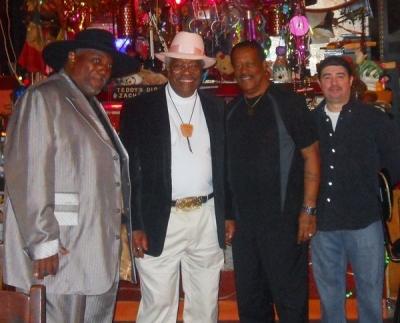 Willie, Teddy, Paul & Tony @Teddy's Juke Joint