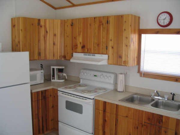 <p>Cabin kitchen</p>