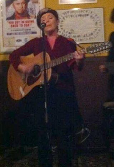 <p>Performing at Carmody's</p>