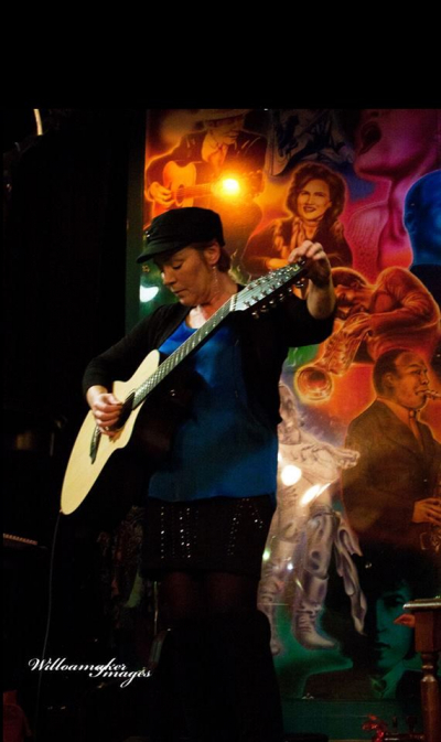At my CD release party