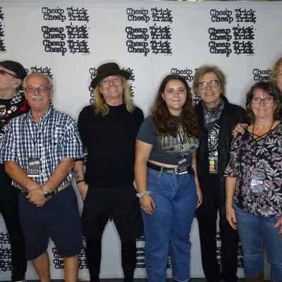 With Cheap Trick.