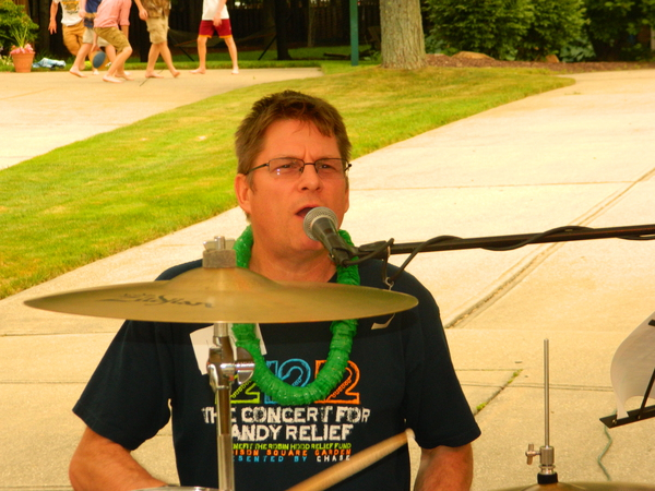 Rob Johnston at the Strongsville Party 2014