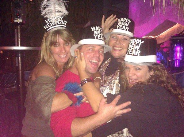 New Year 2012 at Manatee Island