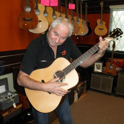 Jay Wolfe of Wolfe Guitars!!