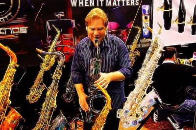 JAMES ARCHER        Sax Powerhouse!