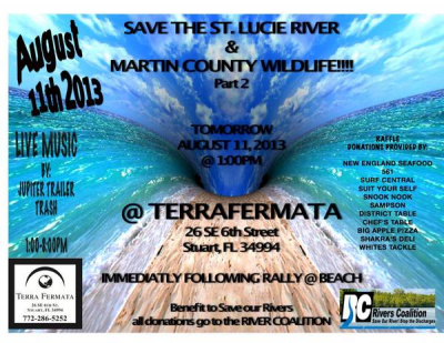 Save The River  August 11, 2013  Terra Fermata