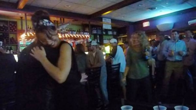 <p>Dancin' at the FISHWHISTLE, October 2014</p>