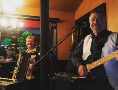 Dom Lavin and Tommy Dunn at the Grasshopper