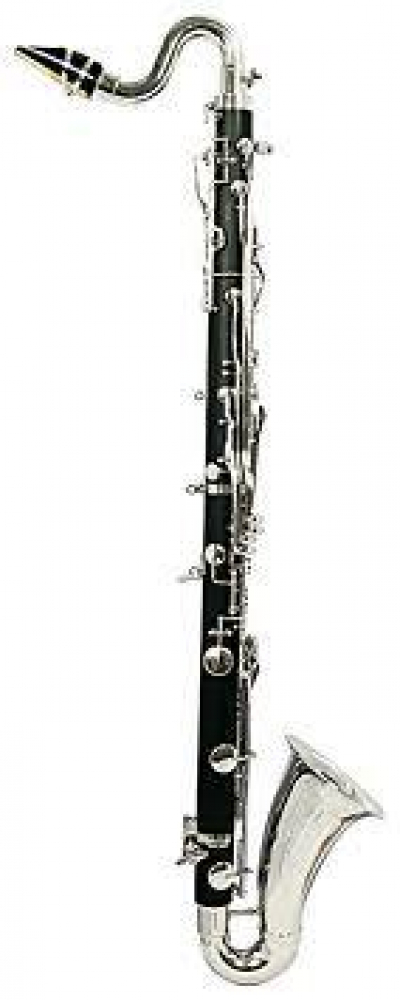 E-Flat Alto Clarinet – Pitched between the soprano and the bass clarinet, the alto clarinet, adds color and harmony in the lower clarinet range.