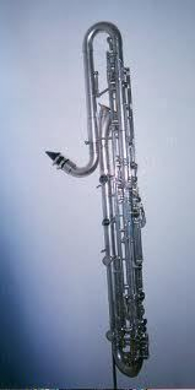 "Contrabass Clarinet – The largest commonly-used clarinet, the contrabass sounds an octave lower than the bass clarinet. It is sometimes called the ""pedal clarinet"" because its sound mimics the pedal notes played on a pipe organ with the feet."