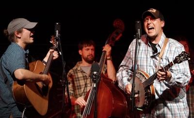 Randy with Slim Pickins Bluegrass