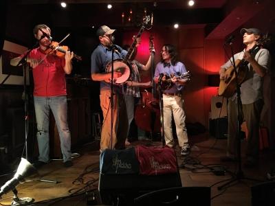 In Belgium with Slim Pickins Bluegrass