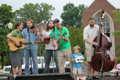 with Slim Pickins Bluegrass and Charlie