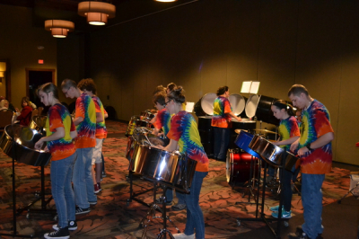 Making music for a great cause, the EveCenter organization!