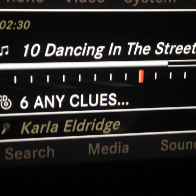 Karla's CD Song on the Radio!