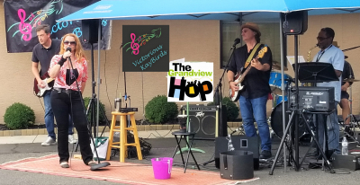 Bopping at the Grandview Hop with Patrick's Brother filling in
