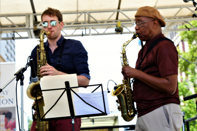 Sometimes it takes Two Sax Players
