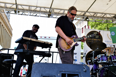 Rockin' Downtown Columbus Ohio in June 2019