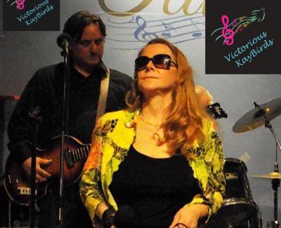 Karla Kay Basking in the music - like a light.