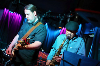 Experienced Sax and Lead Guitar found their groove