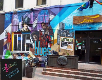Outside a Downtown Columbus Venue for Blues Soul