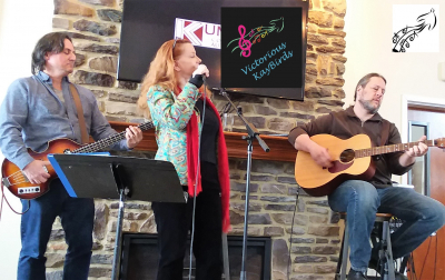 We Won!  Acoustically- Buckeye Lake Winery Band Showdown